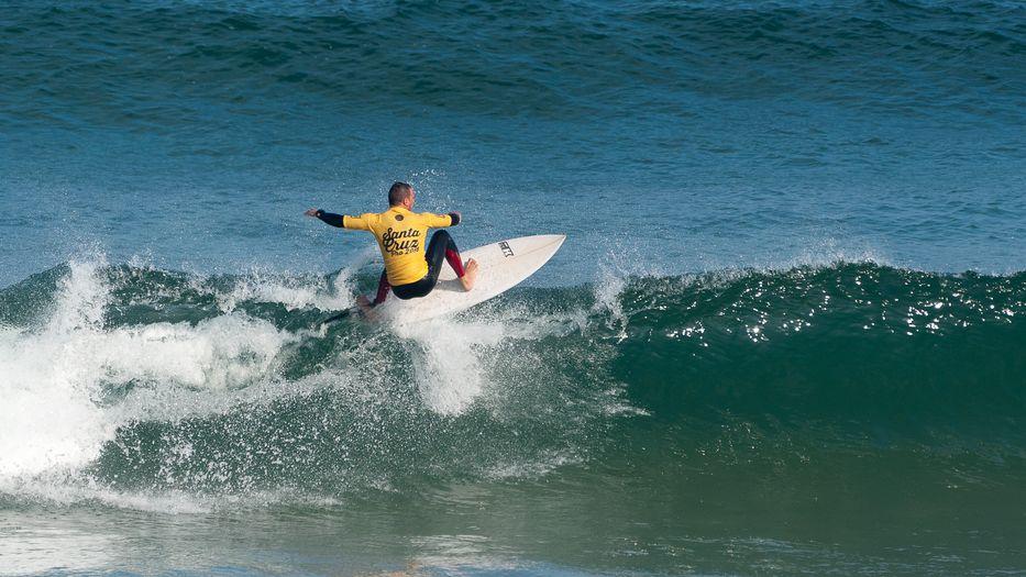 A Surfing Day In Santa Cruz Portugal