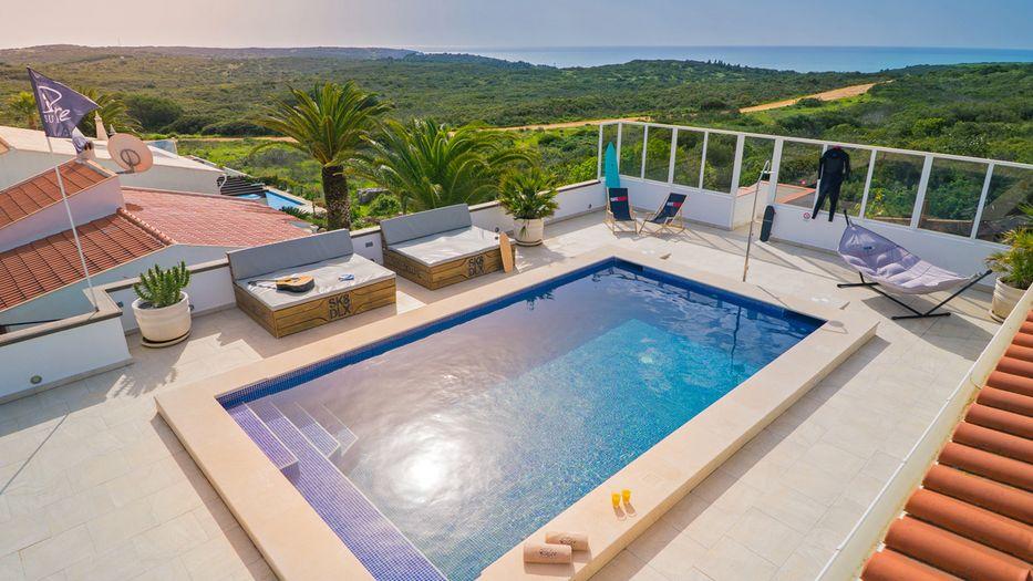 Una sguardo alla Pure Surf Lodge Portogallo