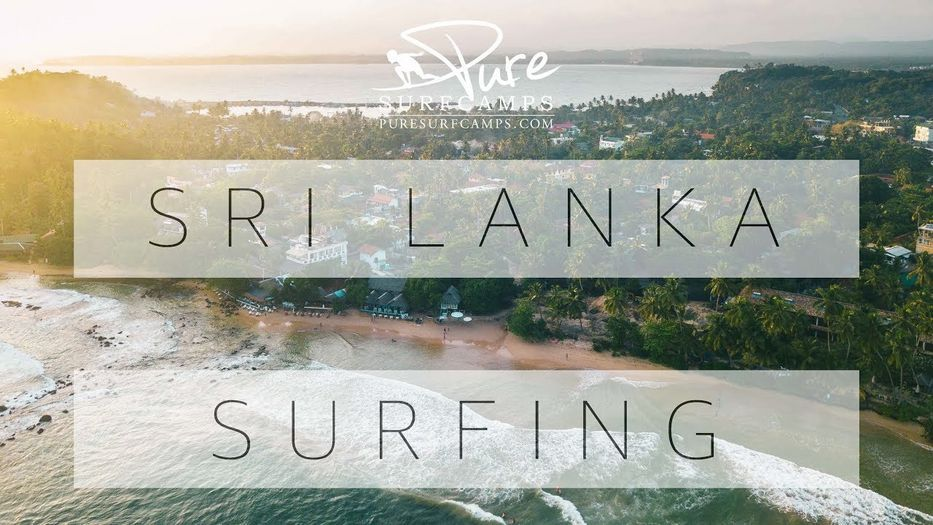 Sri Lanka Surfing